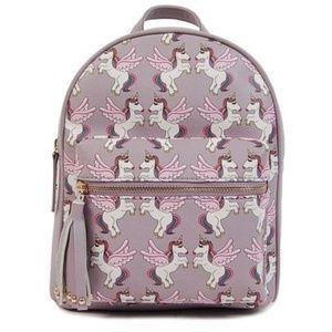 Mini Backpacks; Unicorn themed